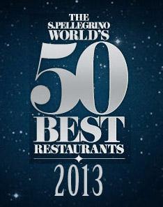 50 best restaurants 2013 San Pellegrino dóndecomere