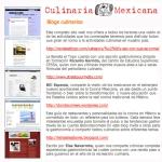 Culinaria Mexicana